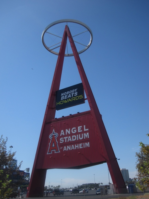 The A at Angel Stadium