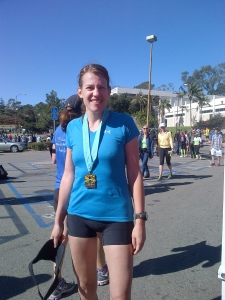 Marathon finisher