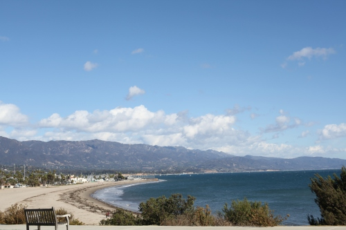 Santa Barbara Marathon beach view