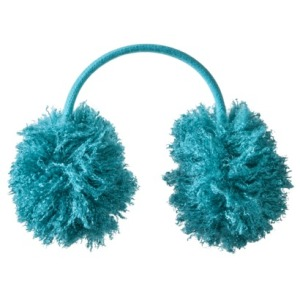Crazy fluffy earmuff fun. My 8-year-old is sleeping in them as I type this....