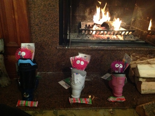 Ski boot stockings