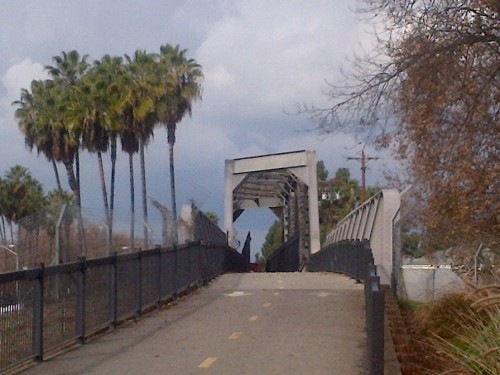 Bridge on the Whittier Greenway Trail