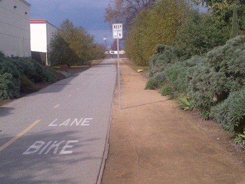 Lanes on Whittier Greenway