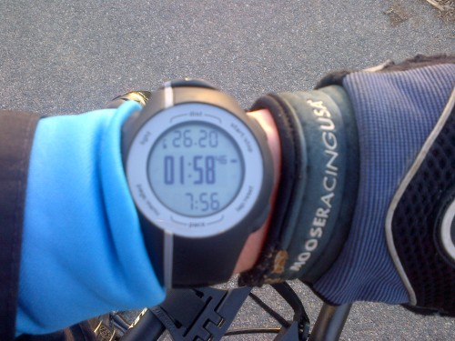 26.2 on the Garmin