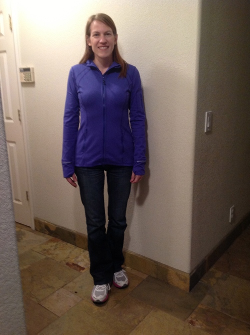 No I do not run in my best pair of designer jeans (Hudson) and yes I do wear my Brooks Adrenaline GTS 12 to shop at Costco.