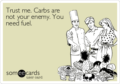 Carbs are not your enemy