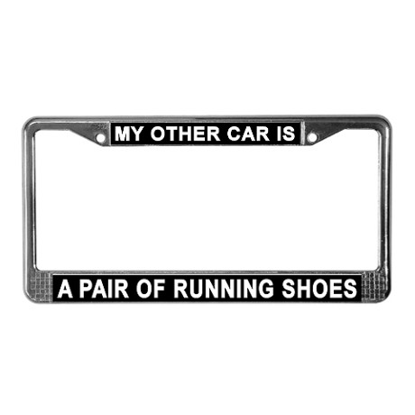 running_shoes_license_plate_frame