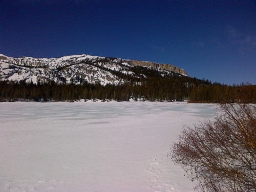 Lake Mary in winter
