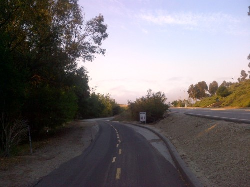 Aliso Creek Path trailhead