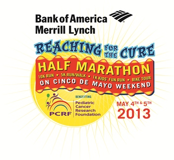 PCRF Reaching for the Cure Logo