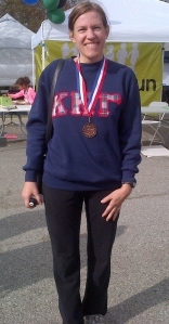 3rd place finish at City Farm Turkey Trot