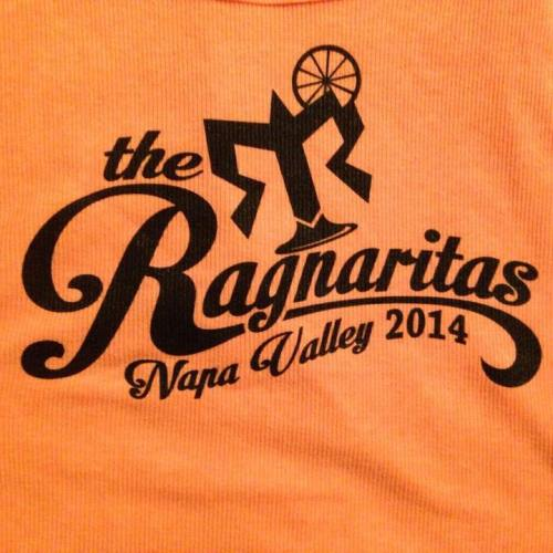 The Ragnaritas all sported matching tank tops from Old Navy with a logo designed by teammate Sara Aroz.