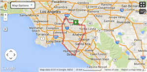 The 73.3-mile bike loop I mapped out on MapMyRun.