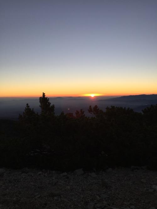 Mt. Baldy sunrise