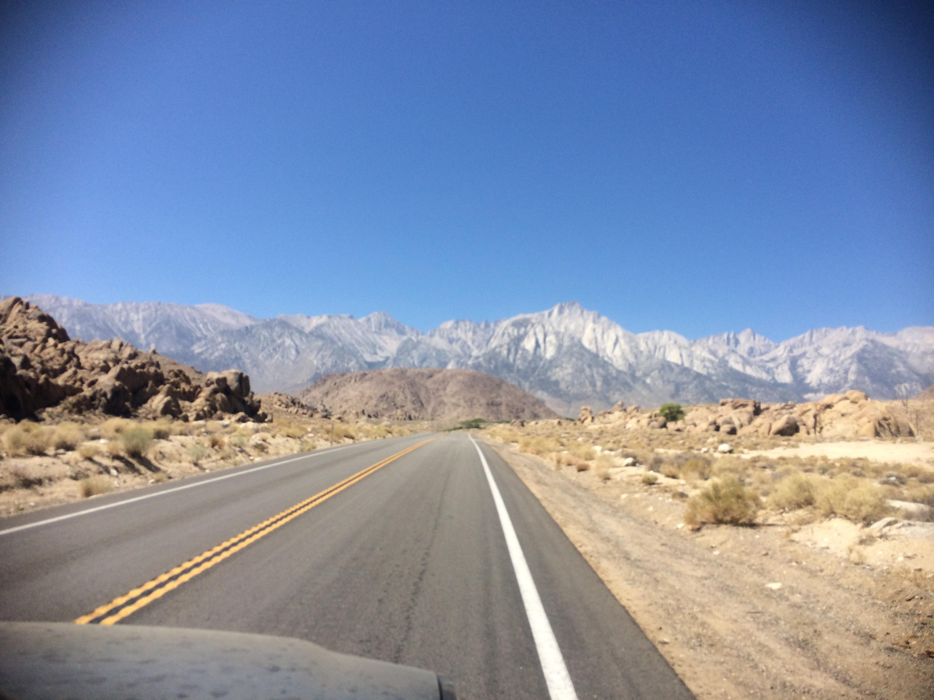 Road to Whitney Portal